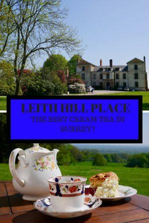 LEITH HILL PLACE Best cream tea