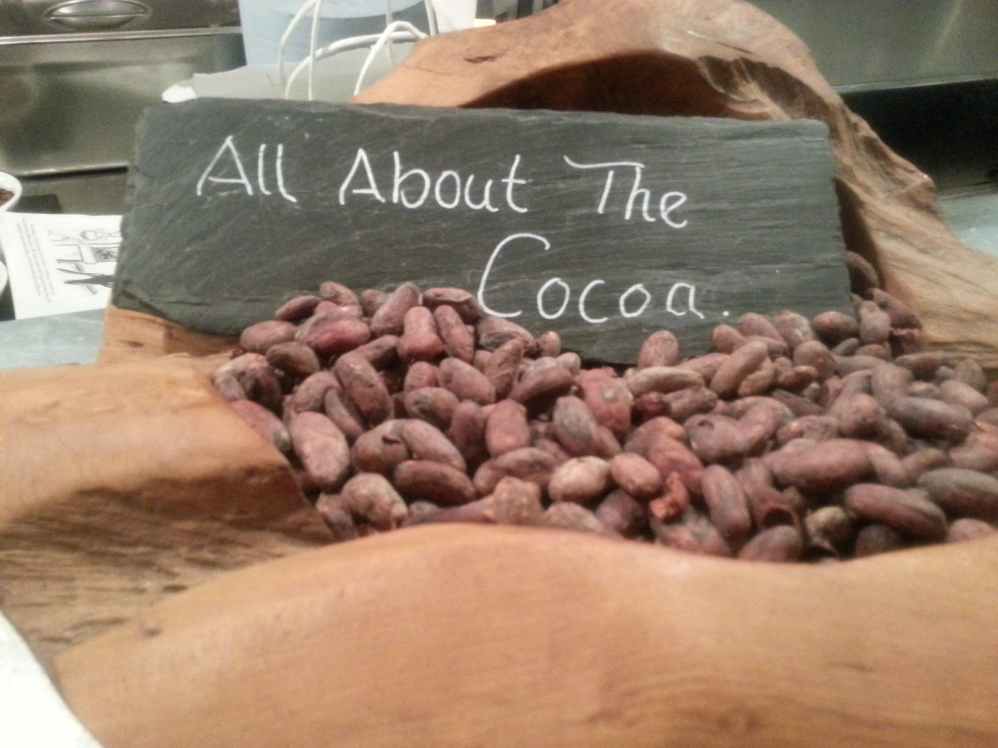 CHILDREN'S CHOCOLATE WORKSHOP at COCOA VAULTS