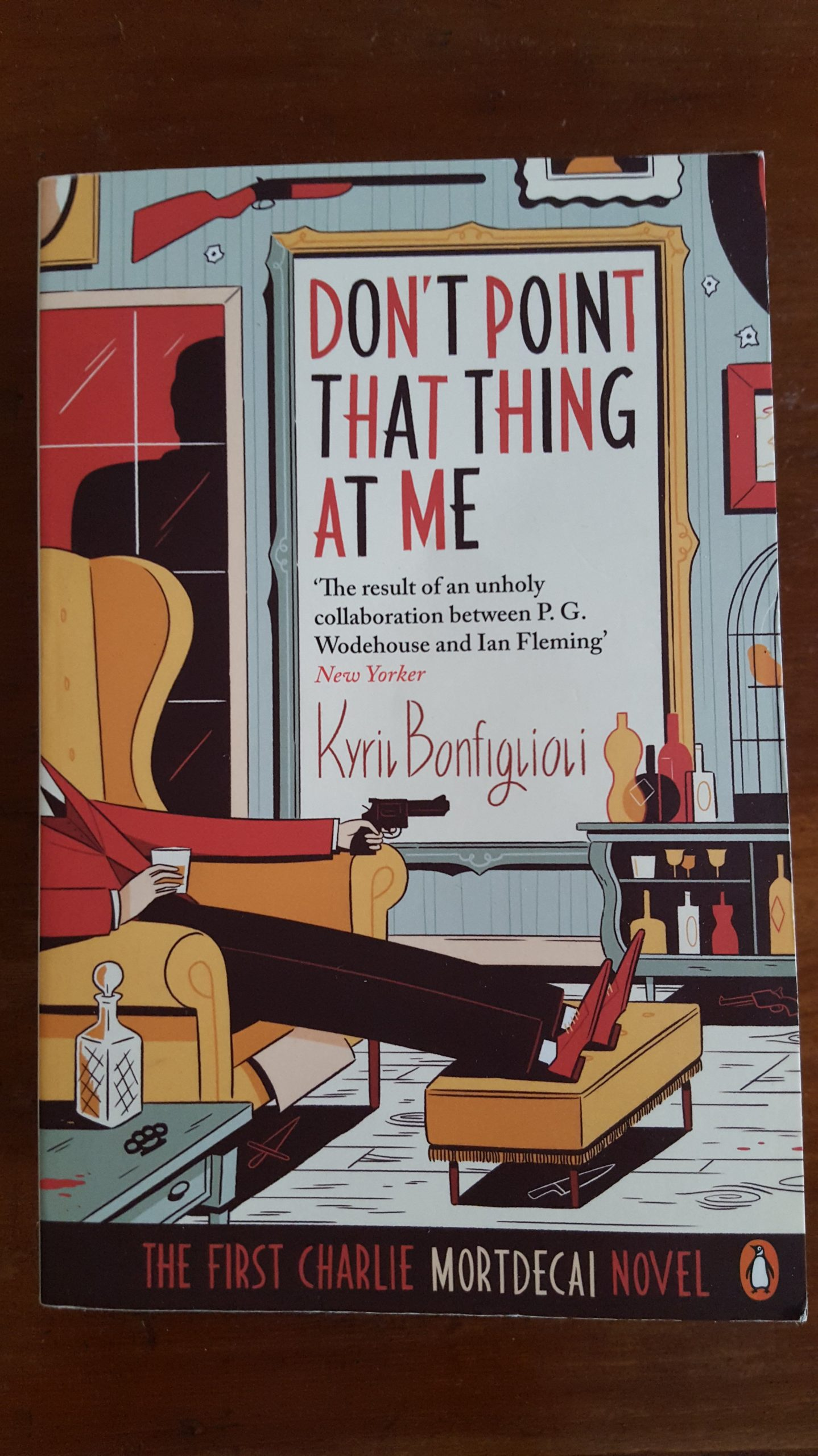 Don't Point That Thing At Me, Kyril Bonfiglioli