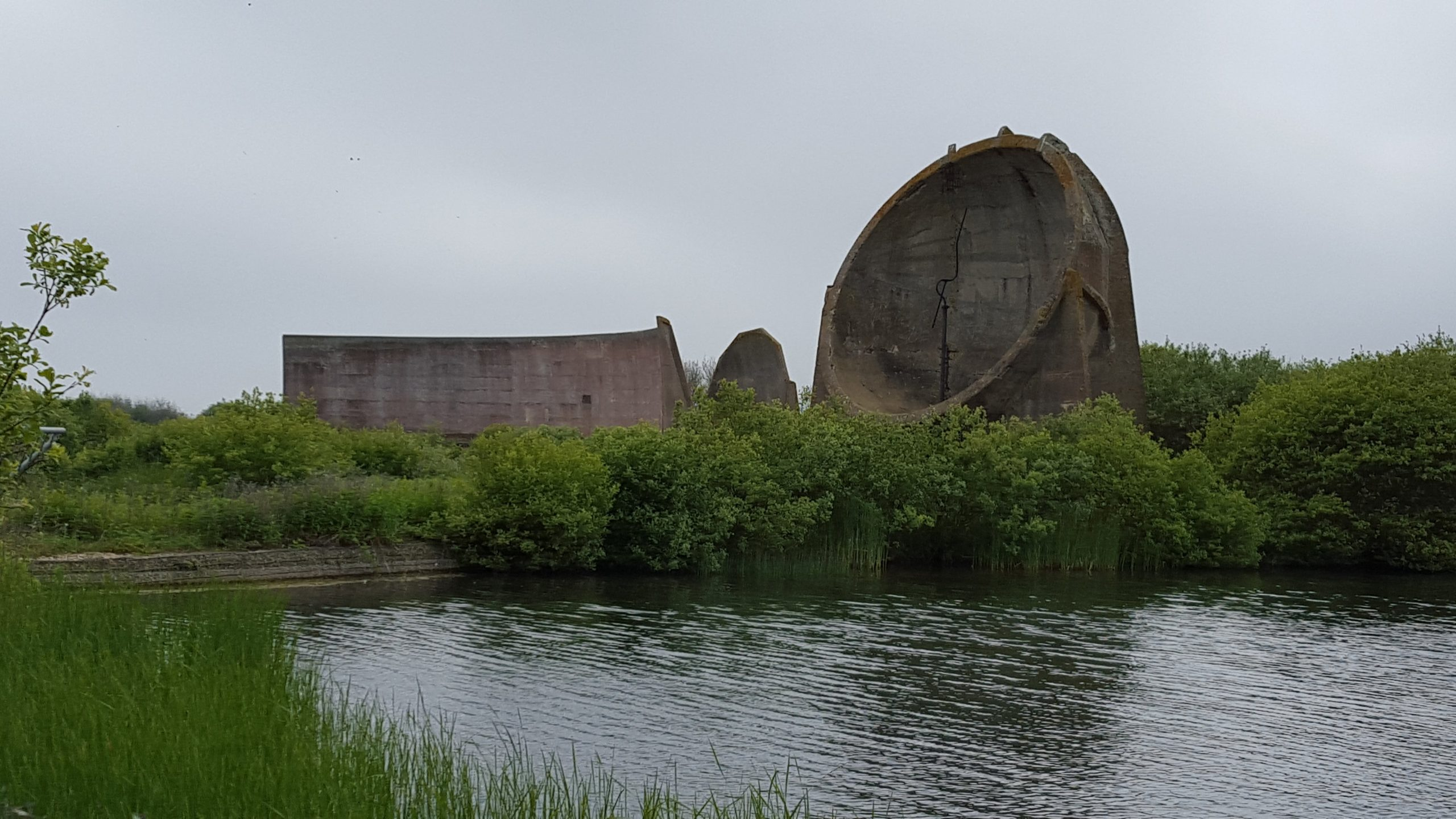 Sound Mirrors at Greatstone