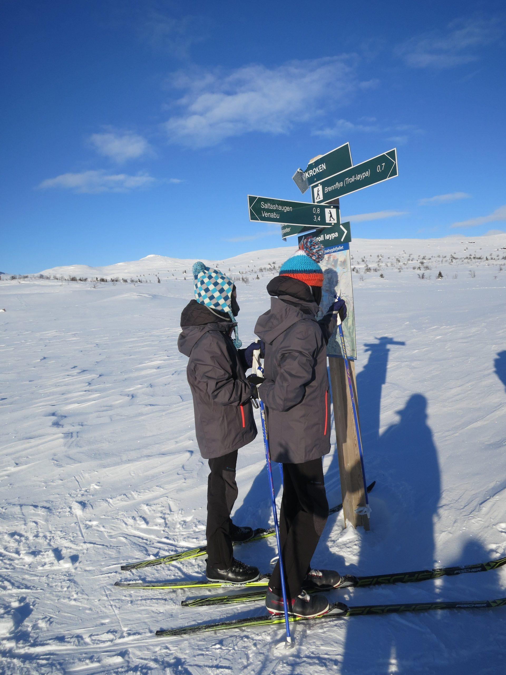 Which way? Venabu