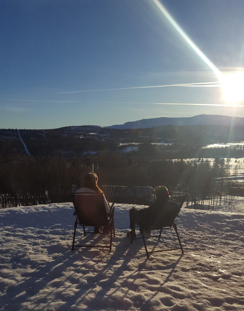 Mother Son Bonding, Venabu, Norway