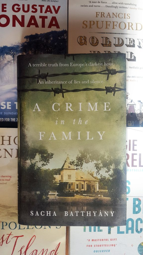 BOOK REVIEW: A CRIME IN THE FAMILY by SACHA BATTHYANY
