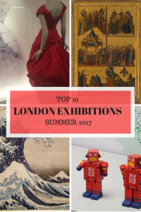 TOP TEN LONDON EXHIBITIONS 2017