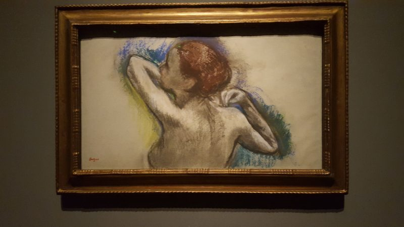 Degas from the Burrell