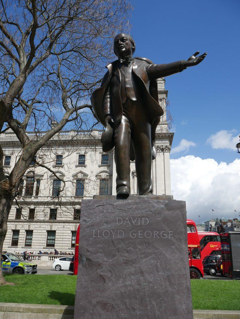 Lloyd George statue Parliament Square