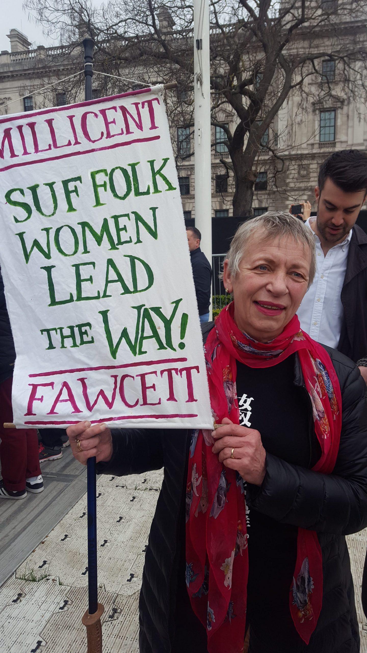 Millicent Fawcett Suffolk Women Lead the Way banner