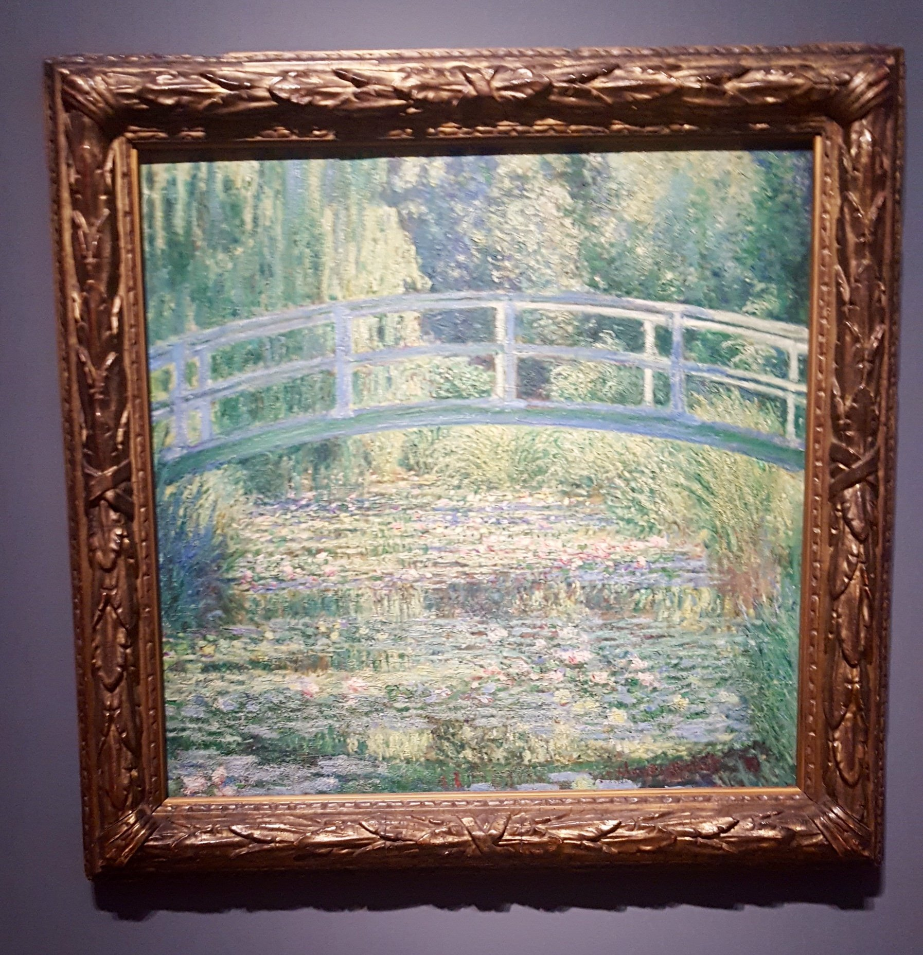 Claude Monet Water-Lily Pond National Gallery London