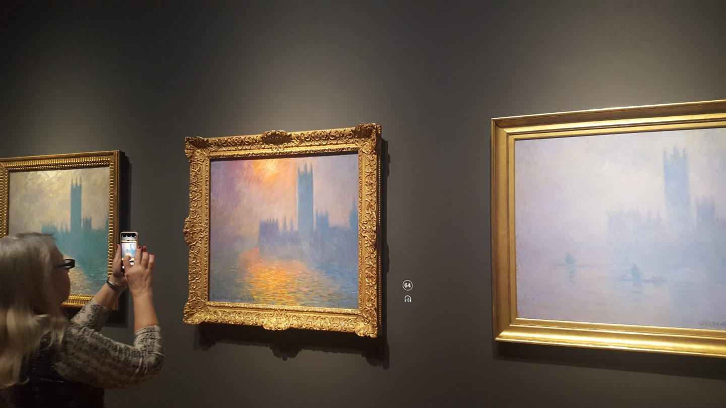 Claude Monet London views Monet and Architecture at the National Gallery London