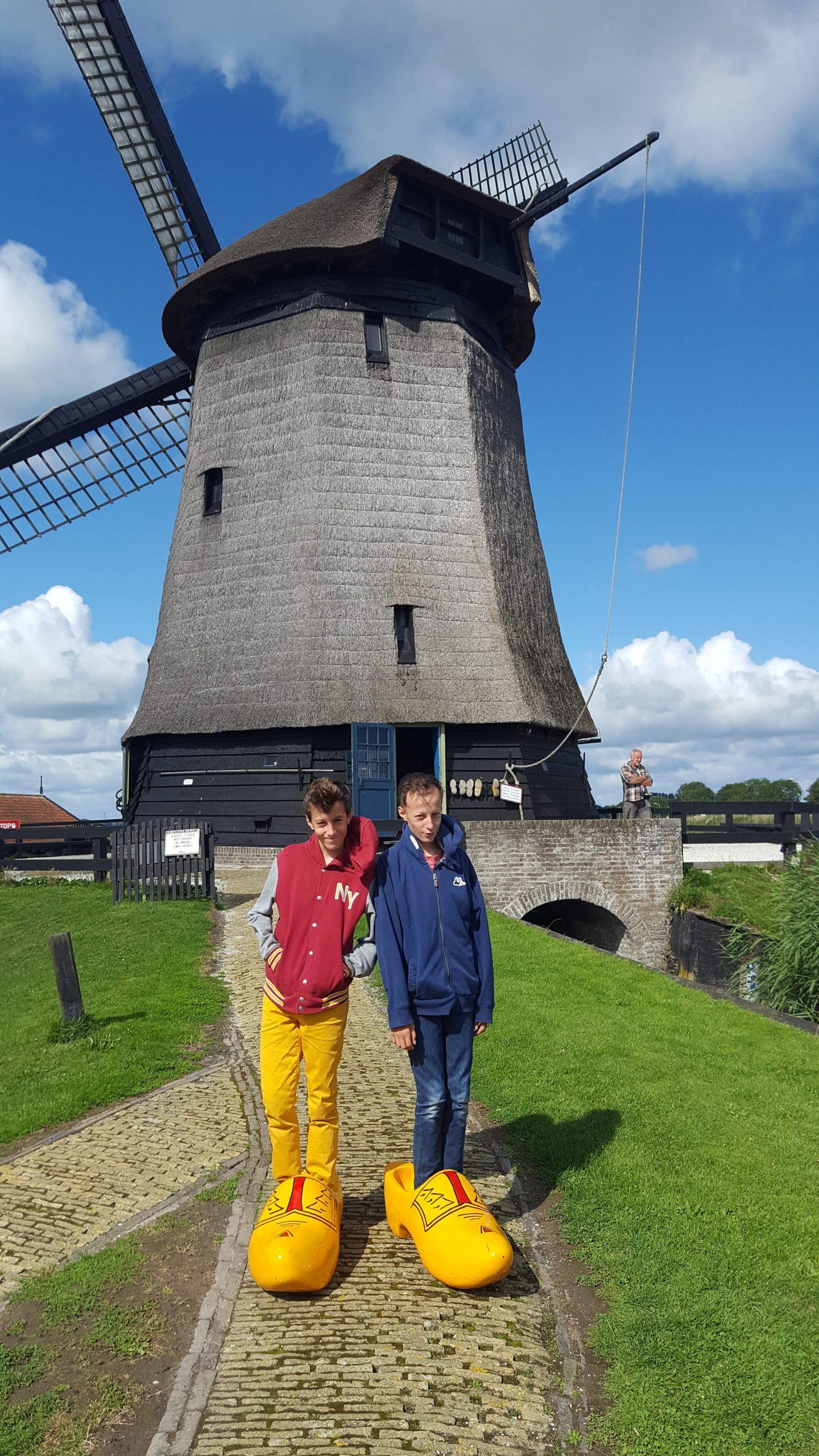 Giant Clogs Dutch windmill