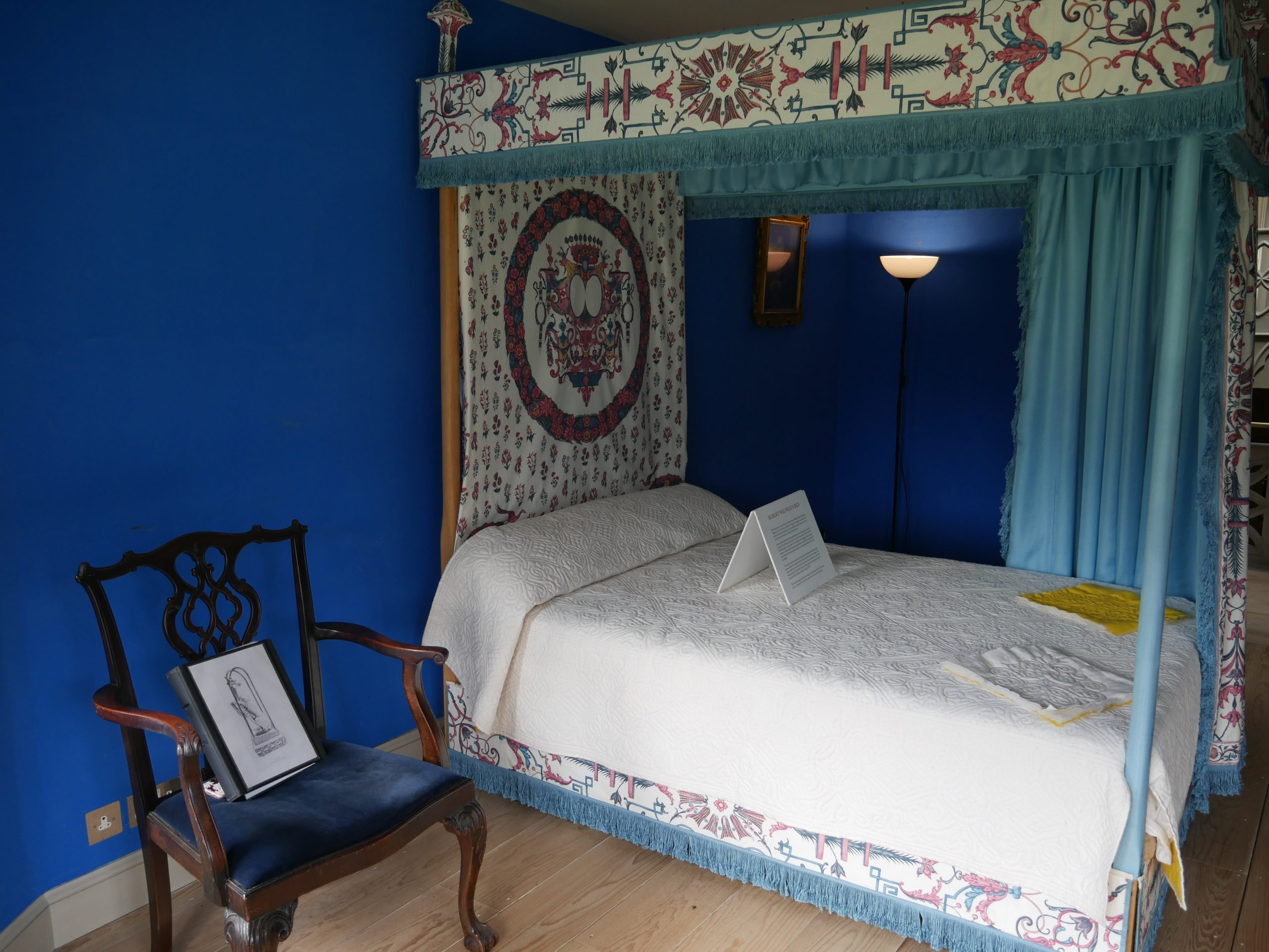 Blue Bedroom Strawberry Hill House
