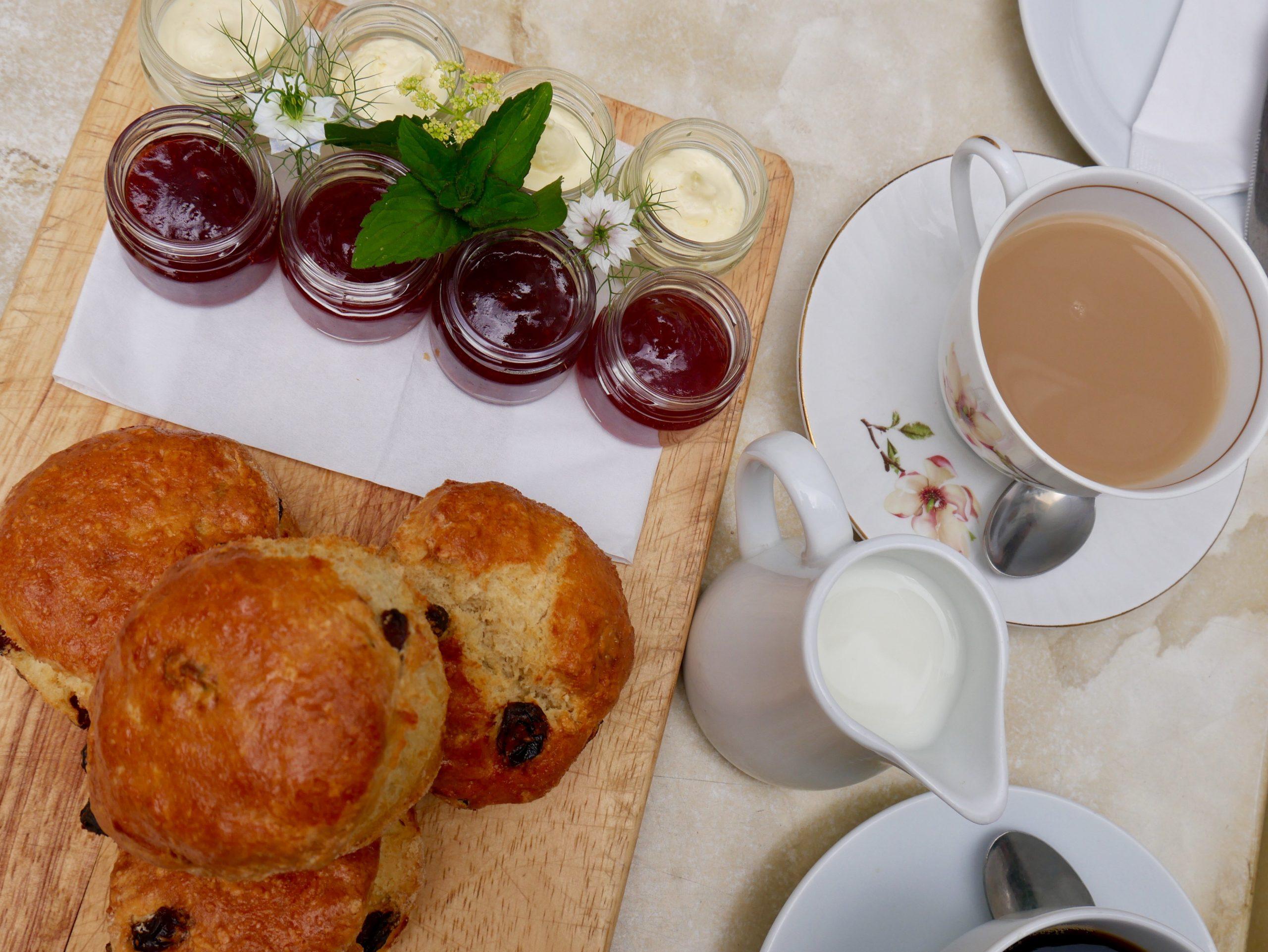 Cream Tea Strawberry Hill House