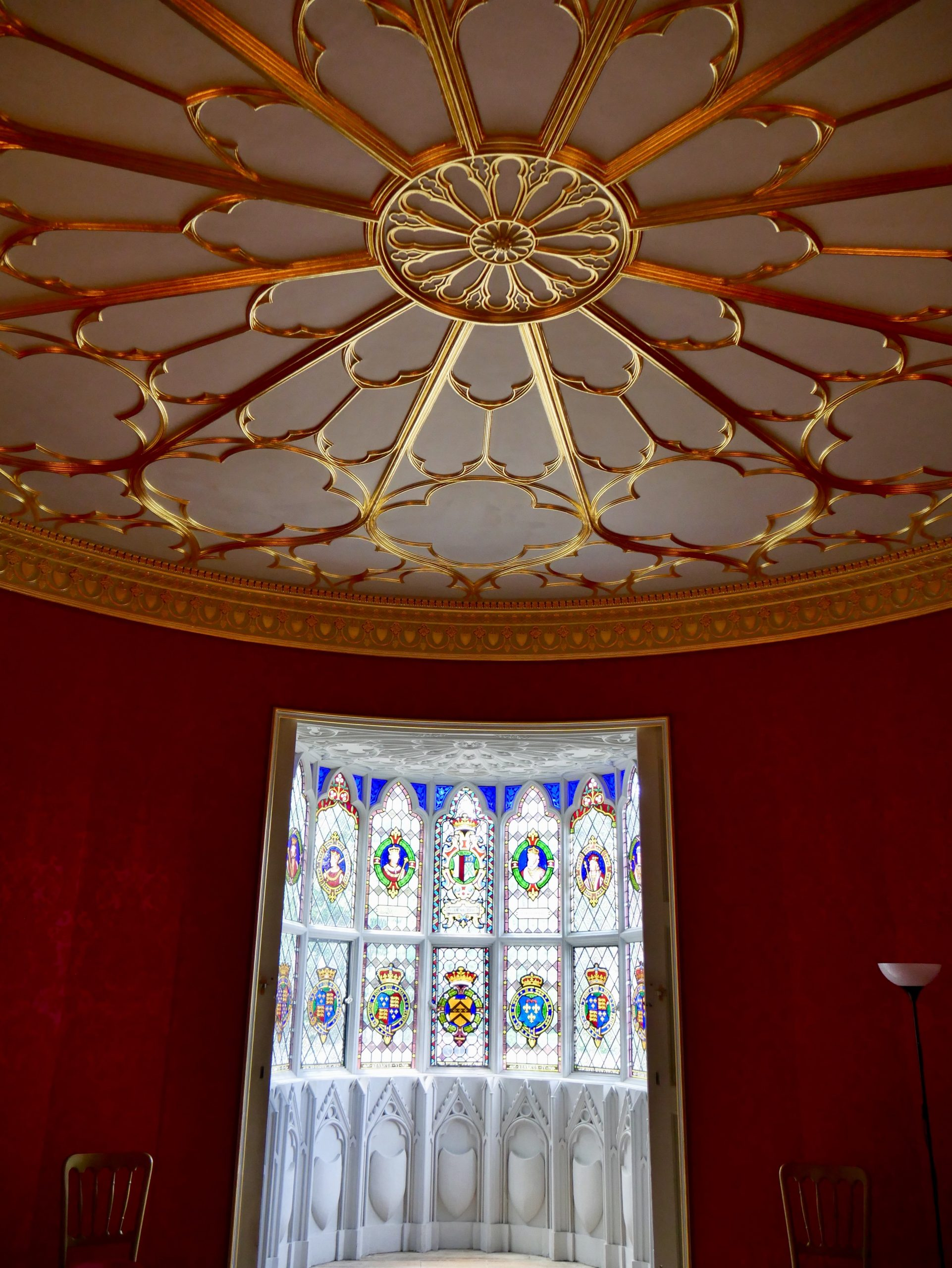Red Dining Room Strawberry Hill House